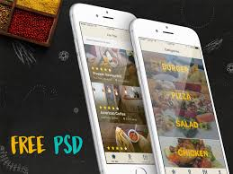 free finder ios restaurant finder app psd free psds sketch app resources