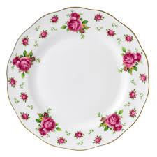 new country roses white vintage dinner plate royal albert us