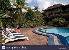 matahari bungalow hotel pool in legian street kuta bali hotel