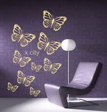 aliexpress com buy group butterfly wall art vinyl mural sticker aliexpress com buy group butterfly wall art vinyl mural sticker children kids room decal stencils s m l yellow green pink blue white red beige from