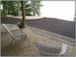 Installing Patio Pavers On Sand Installing Patio Pavers Without Sand Patios Home Decorating