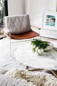 White Tables For Living Room White Marble Top Coffee Table Foter