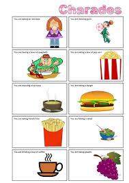 Thanksgiving Charades Word List 7 Free Esl Charades Worksheets