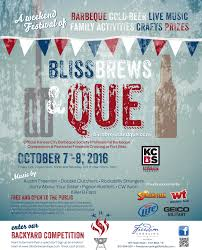 5th annual bliss brews and que starts friday el paso herald post