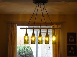 remarkable wine bottle chandelier kit with diy home interior ideas
