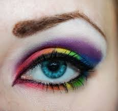 eyeshadow rainbow eyeshadow by pinkpanda92 on deviantart artsy