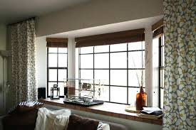 window treatment for bay windows modern window treatments for bay windows vanessadore com