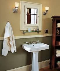Craftsman Bathroom Lighting Craftsman Style Bathroom Lighting Playmaxlgc
