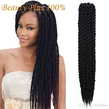 hair crochet hot sell mambo twist crochet braids hair 24 inch senegalese