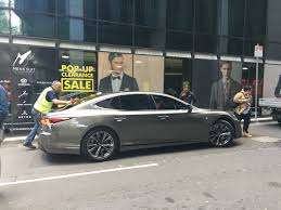 lexus melbourne victoria 2018 lexus ls caught while filming commercial in melbourne