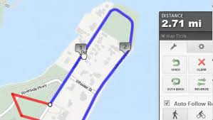 Map My Walk Route Planner by How To Create A Map Using Mapmyrun Com Youtube