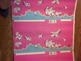 my pony wrapping paper my pony wrapping paper american greetings sectioned for gift