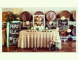 country bridal shower ideas wine tasting bridal wedding shower temecula wine country bridal