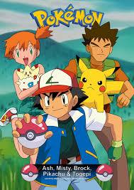 pokemon card ash misty brock pikachu y togepi by adfpf1 on