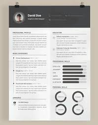 Free Resume Website Templates 20 Beautiful U0026 Free Resume Templates For Designers