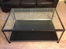 ikea glass top coffee table with drawers display coffee table ikea in glass top display coffee table ikea