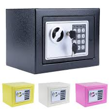 digital electronic safe security box wall jewelry lock keypad