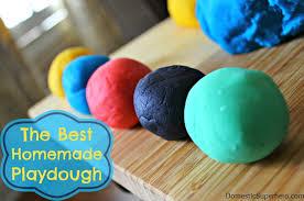 the best homemade playdough recipe domestic superhero