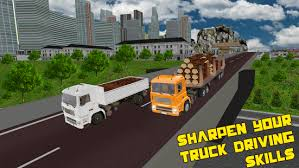 city wood cargo 3d simulator truck driver cargo android apps