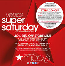 macy s saturday sale is this weekend don t miss it check