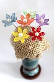plastic flowers best 25 plastic flowers ideas on pet plastic bottles