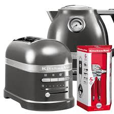 Toaster And Kettle Silver Toaster And Kettle Set 10578