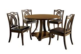 Amazon Dining Room Furniture Amazon Com Furniture Of America Fluxeur 5 Piece Round Dining