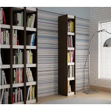 White Melamine Bookcase by Modern Shelving Panama 10 U0027 U0027 Tobacco Bookcase Eurway