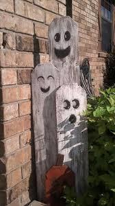 halloween yard decorations ghost wood halloween fun party