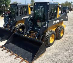 2015 john deere 320e cab skid steer loader for sale in lexington
