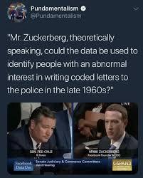 Cruz Meme - ted cruz is in danger mark zuckerberg congressional hearings