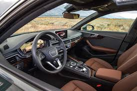audi a4 2016 interior 2017 audi a4 allroad one week review automobile magazine