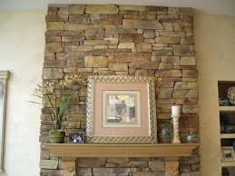 faux rock fireplace pictures stone mantel shelves fake best design
