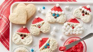 heart shaped cookies santa heart shaped cookies recipe bettycrocker
