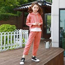 2017 autumn girls fashion 2 pcs clothes orange halloween
