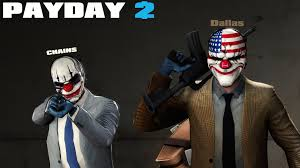 Payday Halloween Costume Dallas Chains Payday 2 Sfm