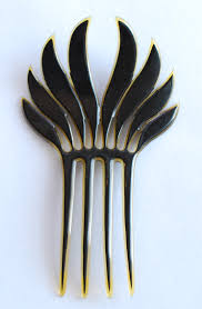 silver quill antiques and gifts antique hair combs and hair