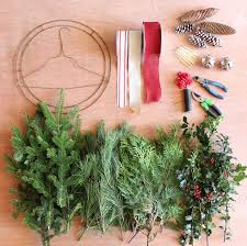 wreath supplies how to make a traditional christmas wreath fynes designs fynes