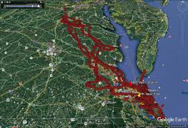 Virginia Beaches Map by The Center For Conservation Biology U2013 Update Feb 1 2017
