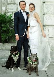 lake bell and scott campbell u0027s wedding party included u0027dogs of