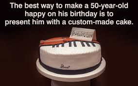 50th birthday cake themes for men too good to miss