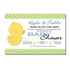 rubber ducky baby shower invitations dancemomsinfo com