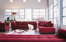 Red Leather Chaise Lounge Chairs Furniture How To Choose Modern Furniture For Your Living Room