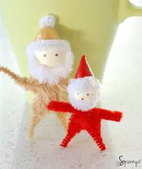 christmas pipe cleaner ornaments diy project ideas u2022 spunnys