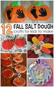 fall salt dough ornaments and craft ideas for to make find