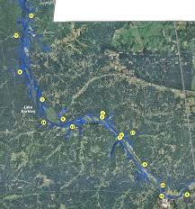 cumberland river map localwaters lake barkley maps boat rs