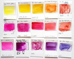 aurora u0027s land custom watercolor palette