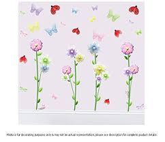 bugs n blooms stickers garden wall mural vinyl stickers 108