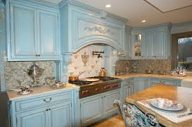 french country kitchen blue video and photos madlonsbigbear com