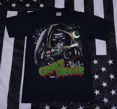 grave digger monster truck merchandise vintage 80s 90s grave digger monster truck t shirt size s promotion